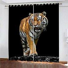 empty Vorhang jugendzimmer mädchen Tiertiger