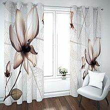 empty Vorhang Kinder Blumen Pflanzen Thermovorhang