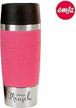 Emsa Thermobecher - Lieblingsmensch (pink): Travel