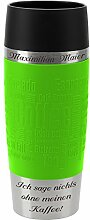 Emsa Thermobecher Travel Mug Limette 360 ml mit