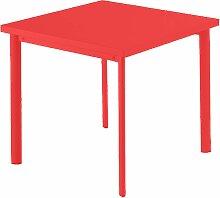 Emu Star Square Gartentisch Quadratisch 70x70 Rot