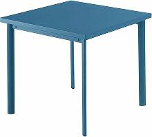Emu Star Square Gartentisch Quadratisch 90x90 Blau