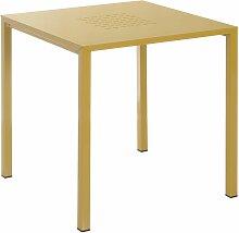 Emu Urban Square Table Gartentisch 80x80 Senfgelb