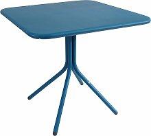 Emu Yard Folding Square Table Tisch Blau 80x80 (l) 80 X (b) 80 X (h) 74 Cm