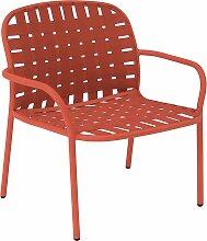 Emu Yard Lounge Sessel Rot (b) 73 X (t) 71.5 X (h) 77 Cm