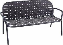 Emu Yard Two Seats Sofa Schwarz/Grau (b) 139.00 X