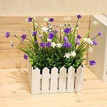 Emulation Blume Sterne, Holzzaun blumige Anstecker