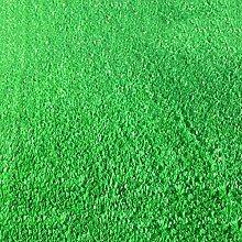 Emulation Kunststoff Rasen Teppich, Spielplatz Balkon Kindergarten Garten Teppich mit Grünem Gras, Sonnenschutz Einfach Zu Säubern Flammhemmend Rasen Fußmatten, Dicke: 20 mm, 1M * 1M