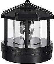 EMVANV Solarbetriebener Leuchtturm,