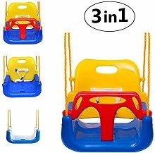 Emwel 3-in-1 Babyschaukel Kinderschaukel für Baby