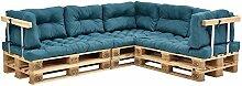[en.casa] Euro Paletten-Sofa - DIY Möbel - Indoor