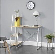 en.casa Regal-Schreibtisch, Aalborg Bürotisch mit