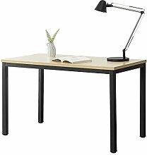 [en.casa] Schreibtisch Odense in Schwarz und
