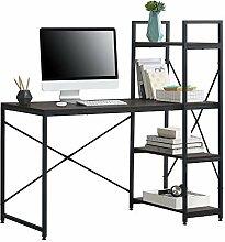 [en.casa] Schreibtisch Stavanger mit Regal