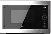 Enbau-Mikrowelle (800W, Steel-Black)