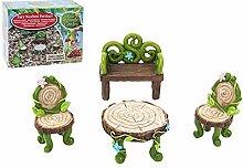 Enchanted Gardens Gartenmöbel mit Feen-Motiv,