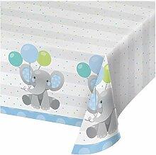 Enchanting Elefants Boy Papiertischdecke, 1 c