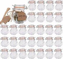 Encheng Gewürzgläser aus Glas, mit luftdichtem