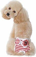 ENCOCO Pet Dog Cat physiologischen Shorts, Puppy