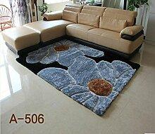 Encryption Thick helle Seide Muster Sofa Wohnzimmer Couchtisch Teppich Schlafzimmer Nachtvoll Shop-Eingang Anti-Rutsch-Teppich ( farbe : A8 , größe : 1.4M*2M )