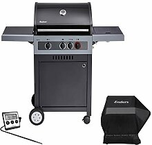 Enders Boston Black 3 K Turbo - BBQ Gasgrill