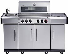 Enders Gasgrill KANSAS PRO 4 SIK Profi Turbo, mit