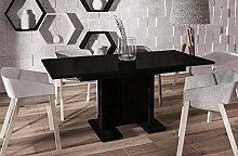 Endo Esstisch Endo Davos 170 ausziehbar erweiterbar Küchentisch Säulentisch Tisch // Wenge