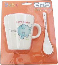 Eñe Elefant Blister Krug Mug 22cl + Löffel,