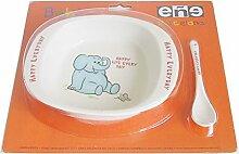 Eñe Elefant Blister Suppenteller, Porzellan,