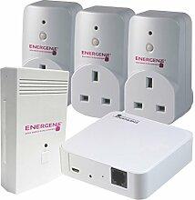 Energenie mihome Energy Monitor Sockel & GATEWAY Se