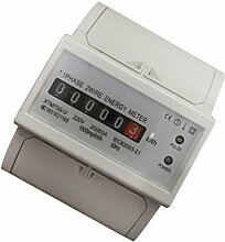 Energie Strom Zähler kWh Zähler LCD digitaler