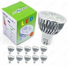Energmix 10x MR16 / GU5.3 LED SPOT Lampe LED
