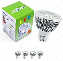 Energmix 2279w 4x MR16 / GU5.3 LED SPOT Lampe LED