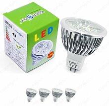 Energmix 4x MR16 / GU5.3 LED SPOT Lampe LED