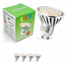 Energmix 4x2064 4x GU10 LED SPOT Lampe LED