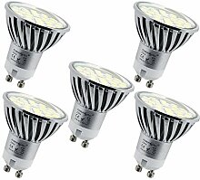 Energmix 5x GU10 LED Lampe 4W 400 lm - Warmwei LED