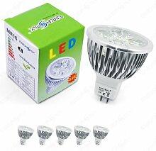 Energmix 5x MR16 / GU5.3 LED SPOT Lampe LED