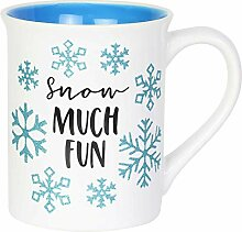 Enesco 6004644 Our Name is Mud Glitter Snow Much