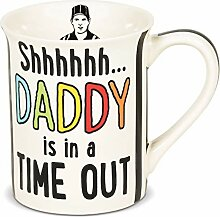 Enesco 6006400 Our Name is Mud Shhh Daddy Time Out