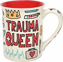 Enesco 6009194 Our Name is Mud Trauma Queen Calm
