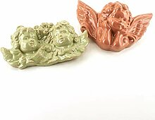 Engel aus Keramik, 1 Paar aus Keramik von