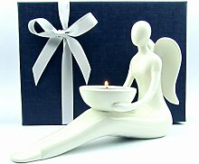 Engel-Figur Weihnachtsengel Porzellan