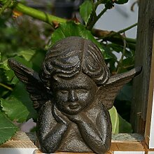 Engel Gabriel aus Gusseisen