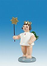 Engelfigur Adventengel mit Stern ohne Krone Höhe