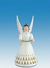Engelfigur Rokokoengel mit Buch Höhe ca 12 cm NEU