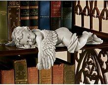 Engelfigur Schläfrige Zeit Design Toscano