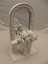 Engelpaar vor Spiegel