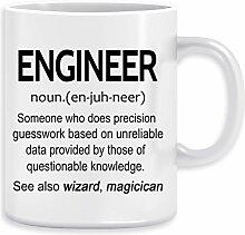 Engineer Noun Kaffeebecher Becher Tassen Ceramic