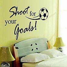 Englisch Alphabet Fußball Kinderzimmer Studie