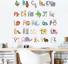 Englisch Alphabet Wandaufkleber Für Kinderzimmer